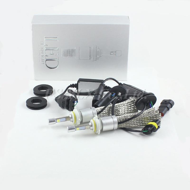 9600lm 80W Car LED Headlight Kit w/ XHP50 Chip H1 H3 H4 H7 H9 H11 9004 HB1 9005 HB3 9006 HB4 9007 HB5 H13 9008