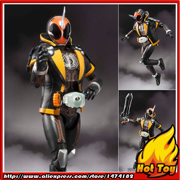 100% Original BANDAI Tamashii Nations S.H.Figuarts (SHF) Action Figure - Kamen Rider Ghost Ore Damashii from Kamen Rider Ghost