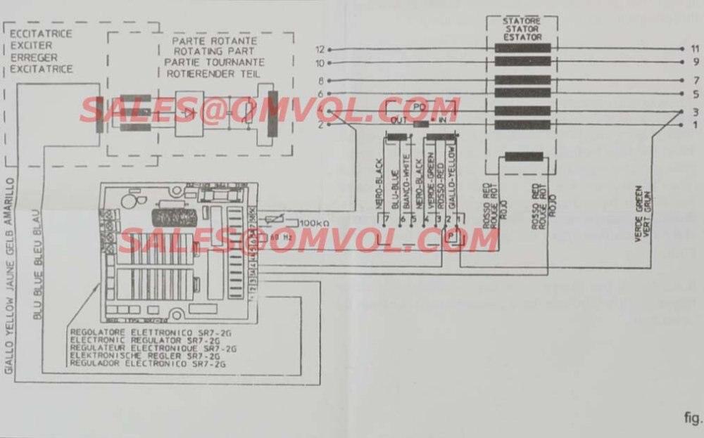 mecc alte spa avr sr7 avr sr7 2g in voltage regulators stabilizers kodiak wiring  diagram mecc alte spa wiring diagram