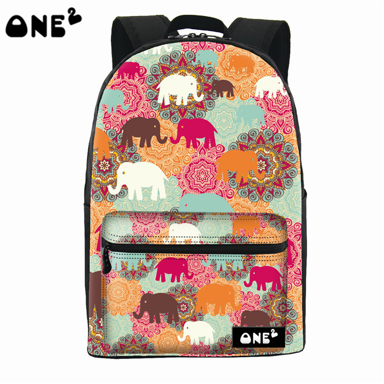 Aliexpress.com : Buy 2016 ONE2 Design colorful elephant pattern ...