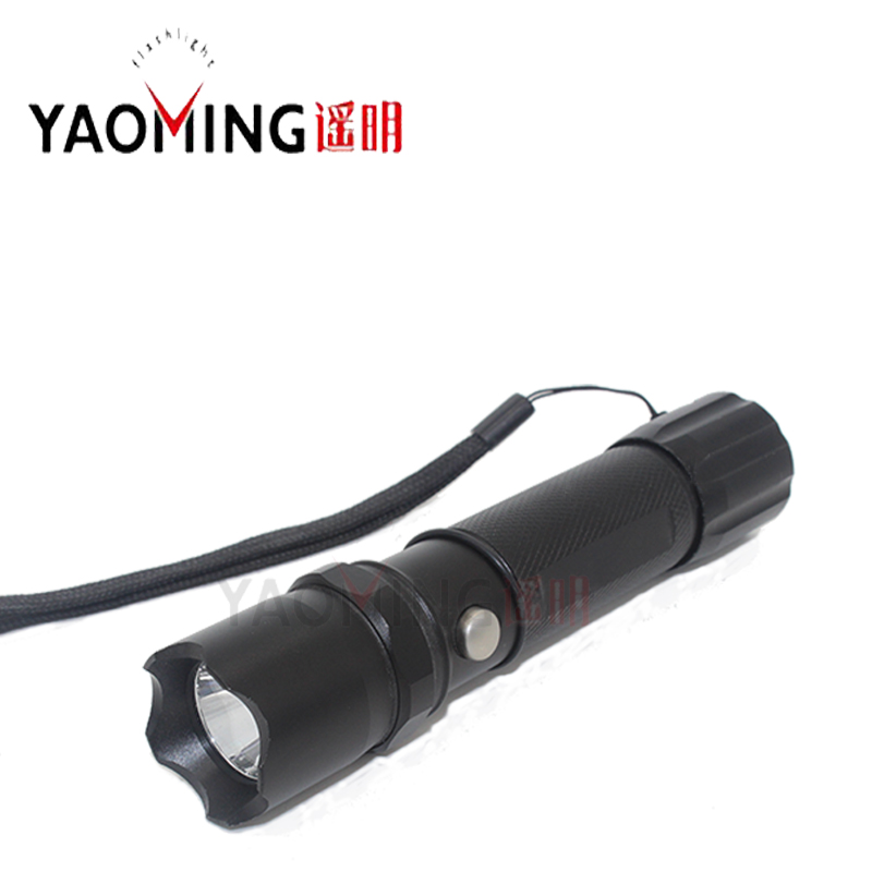 Protable flashlight CREE Q5 LED 3W waterproof rechargeable flashlight tactical torch lantern by 18650 or 3*AAA outdoor lighting km 8014a cree q5 led handheld waterproof outdoor tactical flashlight torch long beam distance flashlight searchlight