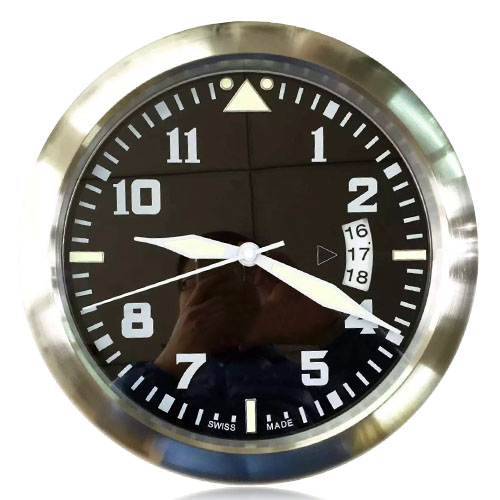 Holy Cow 2016 Brand New Modern Design Wall Clock font b Watch b font 34CM Metal