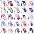 Anime Death Note / Bleach / de alta escola / LoveLive / Fairy Tail / data A vivo / Hatsune Miku etc PU estilo longo bolsa / carteira com zíper