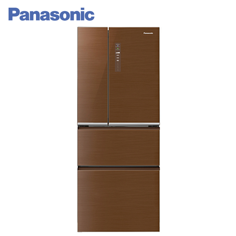 Panasonic NR-D535YG-T8 Refrigerator Touch control panel Exclusive system ECONAVI Storing vitamins with Vitamin-safe function panasonic nr b510tg t8 refrigerator touch control panel the new generation econavi light sensor intelligent inverter