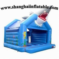 Best Quality Inflatable Shark Bounce House With High Quality