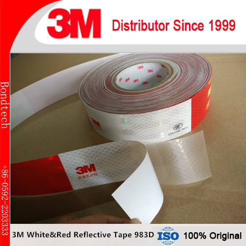 3M 983D Safety reflective marking tape to enhanced visibility and detection for car ,50mmX45.7M/roll (Pack of 1) платье 983 1
