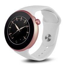 Hohe Qualität Runde Screen Smart Watch Waterproof Smartwatch ios Android-Handy Uhr Armbanduhr Fernbedienung Uhr PK F69 K88H