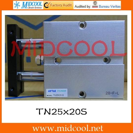 ФОТО Original AirTAC Twin-rod cylinder TN Series TN25x20S