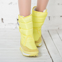 Women Boots 2016 Fashion New Arrivals Warm Ladies Winter Boots Colorful Snow Boot