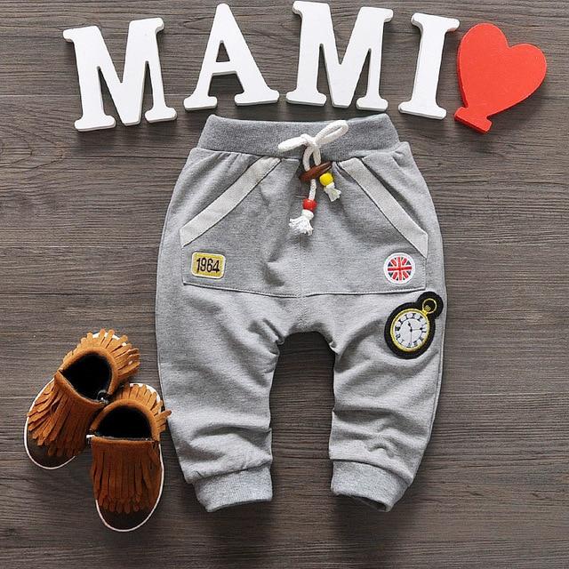 2016 New Baby Pants Cotton Kids Pants Baby Boy Girls Pants 4colors