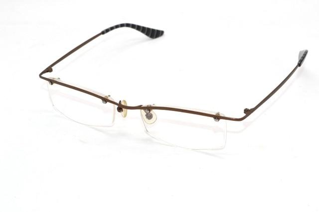 Elite men Ультра легкий прочность Титанового сплава Оптически рамка Заказ Рецепту близорукость очки Фотохромные-1.0 до-6.0