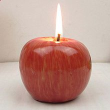 Apple Shaped Candle