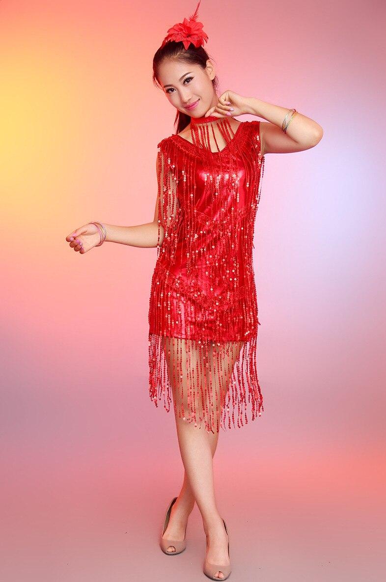 ̿̿̿(•̪ )Adultos/niños Latino danza mujeres/Niñas flor borla falda de ...