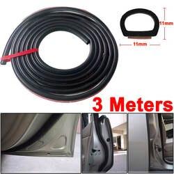 X Autohaux Авто Дверь Клей D Тип Воздуха Герметичный Резиновый Уплотнитель Полосы 3 М