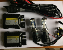 Xenon H4 HID xenon KIT car headlight 12V 55W H4 Hi Lo Bixenon bulb Lamp Light 4300K 6000K 8000K auto headlamp 9004 9007 H13