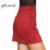 GTIME 80's Retro Cintura Alta Retalhos de Camurça Das Mulheres Do Vintage Saia Grosso Morno do Inverno Outono Sping Casual Mini Lápis Saias # WGT35