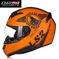 2016 Nueva Llegada de La Manera Diseño Completo Faclse Racing Cascos de La Motocicleta DEL ECE DEL PUNTO Aprobado Envío Gratis ls2 CASCO FF352