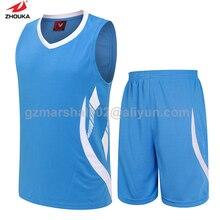 Blank basketball jersey 100 original design basketball training suit