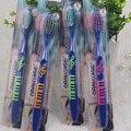 4 pçs/lote mais barato escova de dentes escova de dentes adulto médio confortável de cerdas macias Escova de Dentes escova de Dentes Higiene Bucal