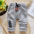 2016 New Spring baby striped pants four colors cotton baby boy/girl pants