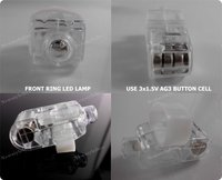 лазер палец из светодиодов лазер палец кольцо для ну ЛГ ба Fake полива - лента кремния