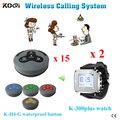 Ycall 433 mhz reataurant garçom chamada de serviço de chamadas de sistema de chamada sem fio sistema de chamada de garçom