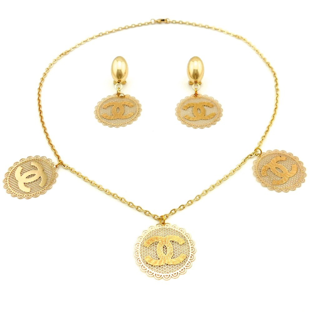 elegant african costume jewelry set18k gold plated dubai jewelry