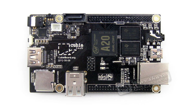Cubieboard2 on board resource