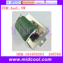 New A/C Fan Blower Motor Resistor Regulator use OE NO. 191959263 , 160760 for Audi 80 90 Coupe VW Golf Jetta