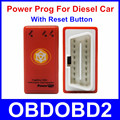 Newest Nitroobd2 Power Prog More Power Torque Than Nitro OBD Chip Tuning Box For Diesel Car With Reset Button Plug and Drive