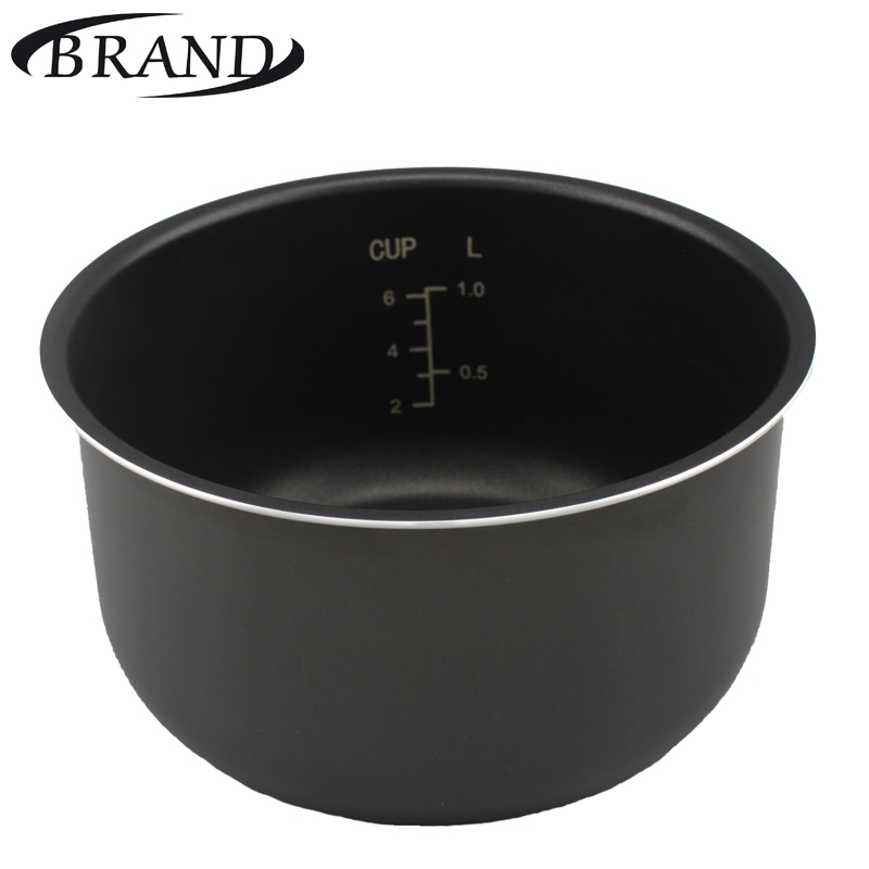 Inner pot 701 bowl pan for multivarka, non stick Whitford coating, 3L, measure scale mini aluminum milk pan frying pan soup pan non stick pan red silver ivory