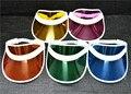 Plastic Sun Visor Unisex UV protección sombreros del partido accesorio tapa 20 unids/lote envío gratis