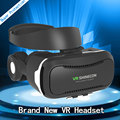 Newest VR Shinecon 4.0 Virtual Reality 3D Glasses Headset +Headphone/Microphone/Foldable Belt for 4.7-6' Mobile phone