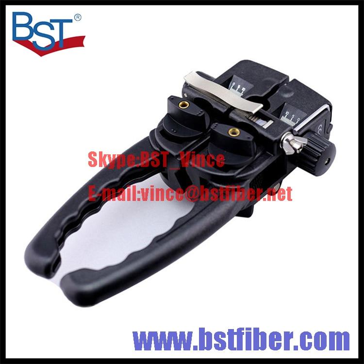 Fiber Optic FTTH Tool Optical Cable Stripper Longitudinal Opening font b Knife b font Longitudinal Sheath