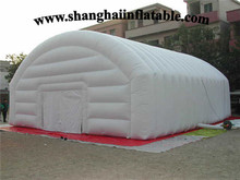 2016 factory price big white inflatable tent outdoor camping shelter for sale