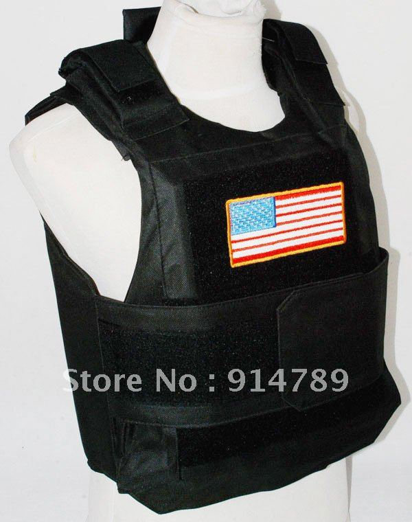 Novelty & Special Use ... Work Wear & Uniforms ... 677011969 ... 2 ... TACTICAL AIRSOFT PAINTBALL BODY ARMOR VEST BK BLACK -3870 ...