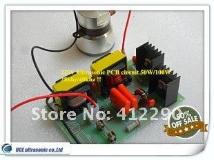40 кГц ультразвуковой печатной платы 100 Вт/220 В Малый мощность схема привода доска для ультразвуковой очиститель