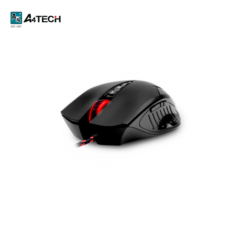 купить Mouse A4Tech Bloody V5 Black Officeacc онлайн