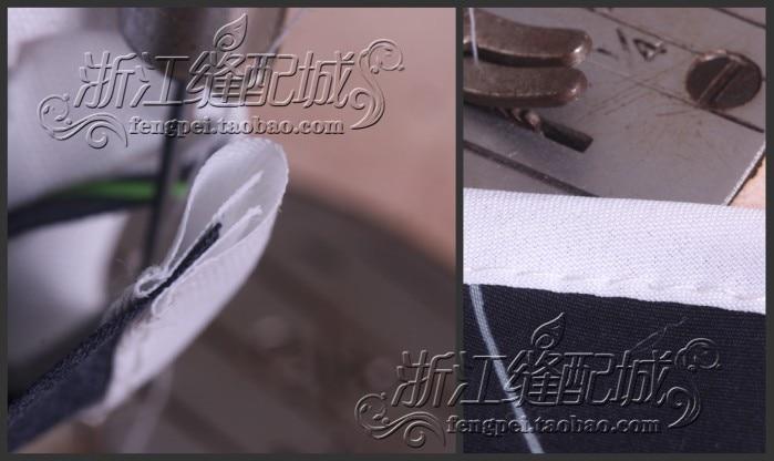 Оверлок папка клейкая лента Размер 45 мм A10 hemmer прямой угол косой связующий для швейной машины обвязки кривой кромки