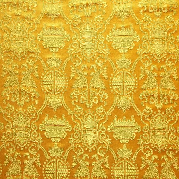 Fabrics Textile Chinese Silk Tapestry Satinnational Chrysanthemum Beauteous Chinese Fabric Patterns
