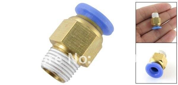 50 шт много Push-to-подключение 10 мм пневматический для воздушных трубопроводов трубные фитинги G1/2 ''PC10-04