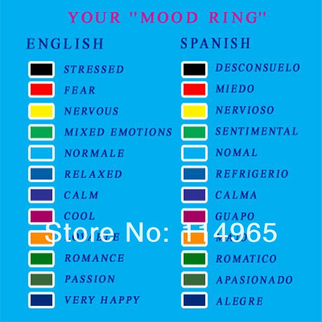 Aliexpress.com : Buy moon star shape mood rings nice fashionable ring change  color mood ring 400pcs/lot by dhl/fedex free from Reliable mood ring  suppliers ...