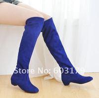 сапоги новые женские. мода колено. большой размер женская обувь прямая поставка lb1007