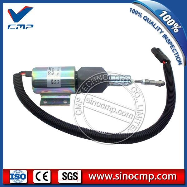 CMP 24v stop solenoid valve 3930236 for cummins excavator