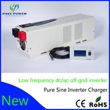 6000 watt 24/48Vdc 100/110/120Vac low frequency power solar inverter charger
