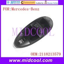 Новый Автоматический Лифт Мастер Окно Выключатель Питания использовать OE № 2118213579 для Mercedes-Benz E200 W211