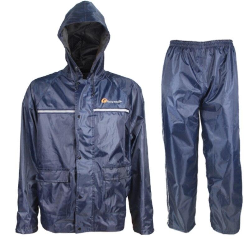 Motorbike rain suit promotion shop for promotional for Fishing rain suits