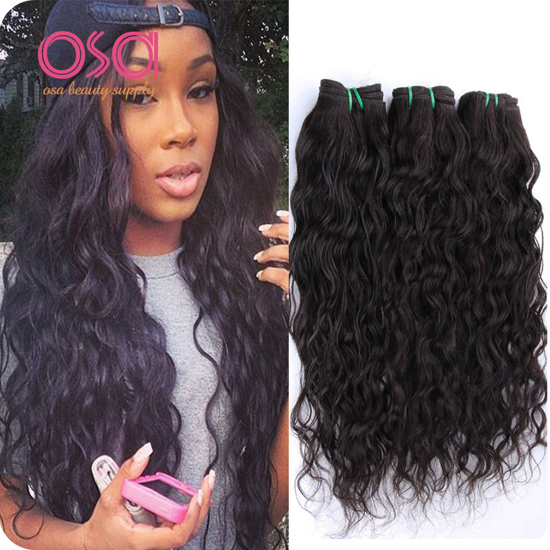Peruvian Water Wave Virgin Hair 4 Bundles Human Weaves Wet And Wavy Ocean Ali Mode Products On Aliexpress Alibaba