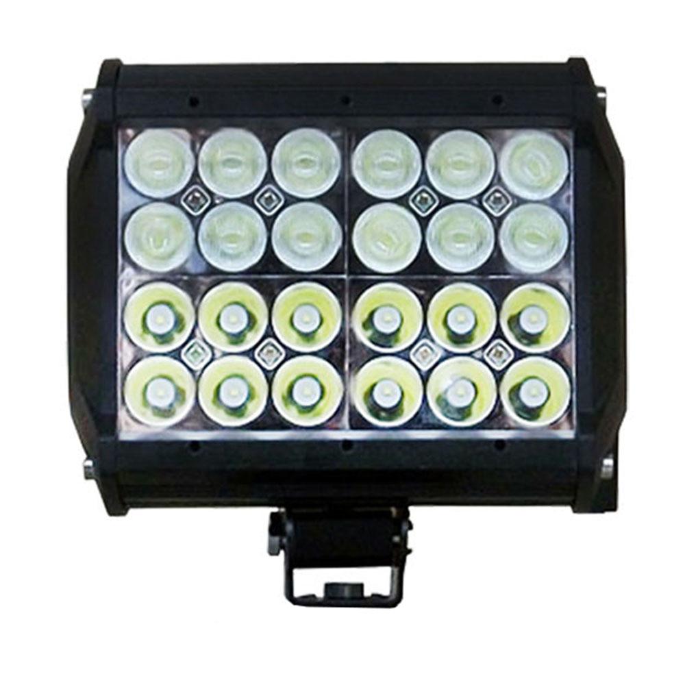 ФОТО 72W Led Work Light Bar For Offroad Driving,4 Rows 6.6 Inch  Led Worklight For Off-Road Working, Spot /Flood/Combo Beam