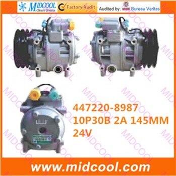 Высокое качество авто ac компрессора 10P30B 2A 145 мм для 447220-8987 4472208987 >>